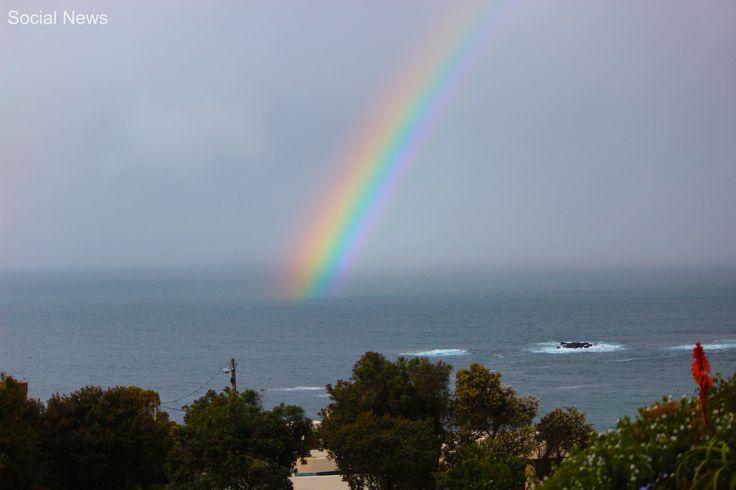 Rainbow in Plettenberg Bay