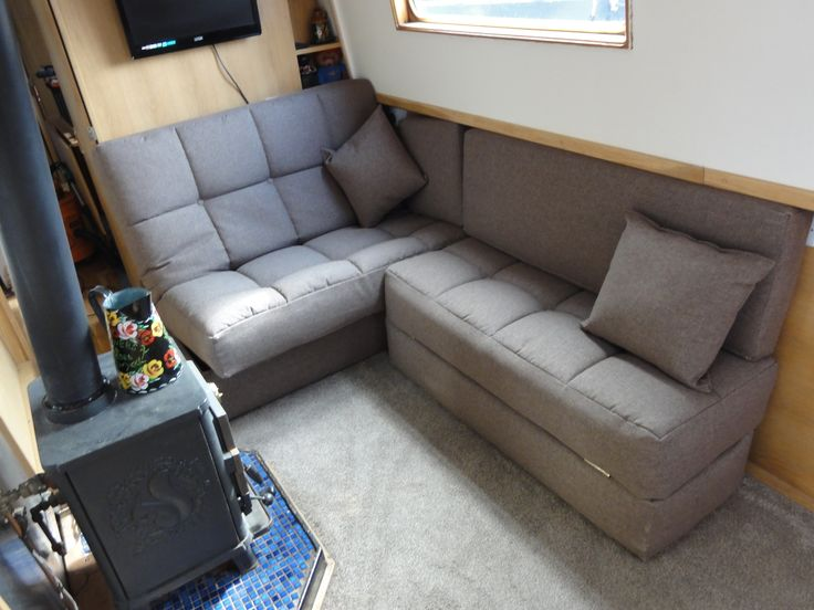 55 Best Images About Narrowboat Sofa Beds On Pinterest Chair Bed Kingston And Woven Fabric