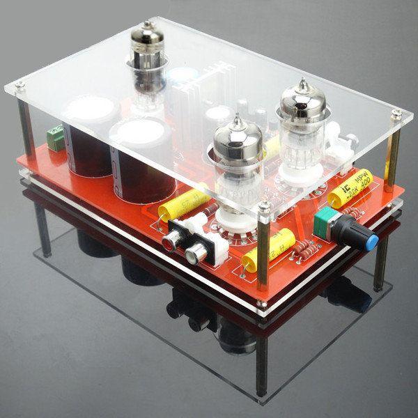 6N3/GE5670 Rectifier Tube HIFI Amplifier Preamp Board DIY Kit With Toroidal Transformer