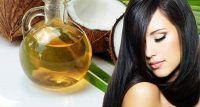 maneiras de usar o óleo de coco no cabelo