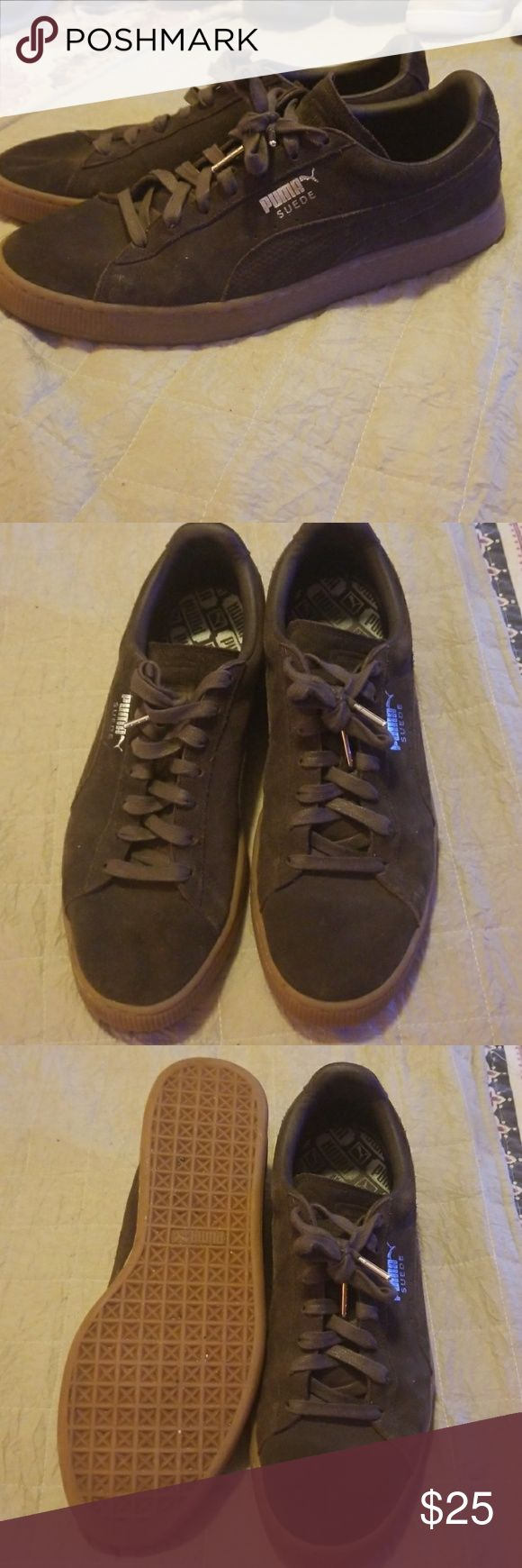 Puma Suede size 11.5 Gently worn Puma Suede size 11.5.  Lowest price Puma Shoes Sneakers