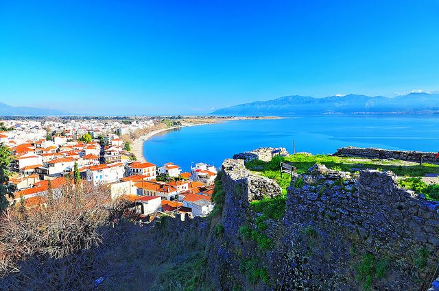 My dream vacation: Greece (in general)  Nafpaktos bay view, Greece