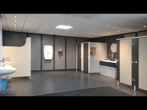 Washrooms - Digital Design to Reality - YouTube