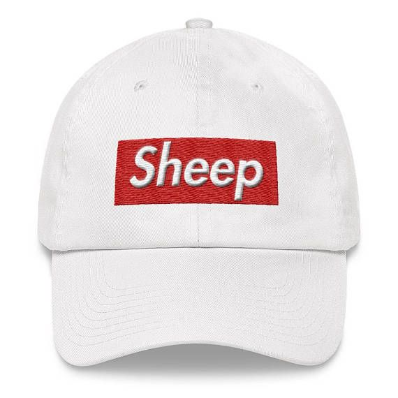 1b25fe49ea9 Sheep Supreme Cap Box Logo Idubbbz Parody Hat
