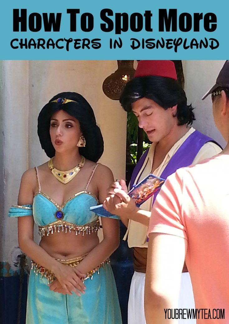 Wie man mehr Charaktere in Disneyland entdeckt