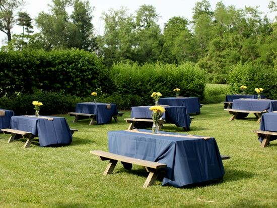 17 Best ideas about Picnic Table Wedding on Pinterest ...