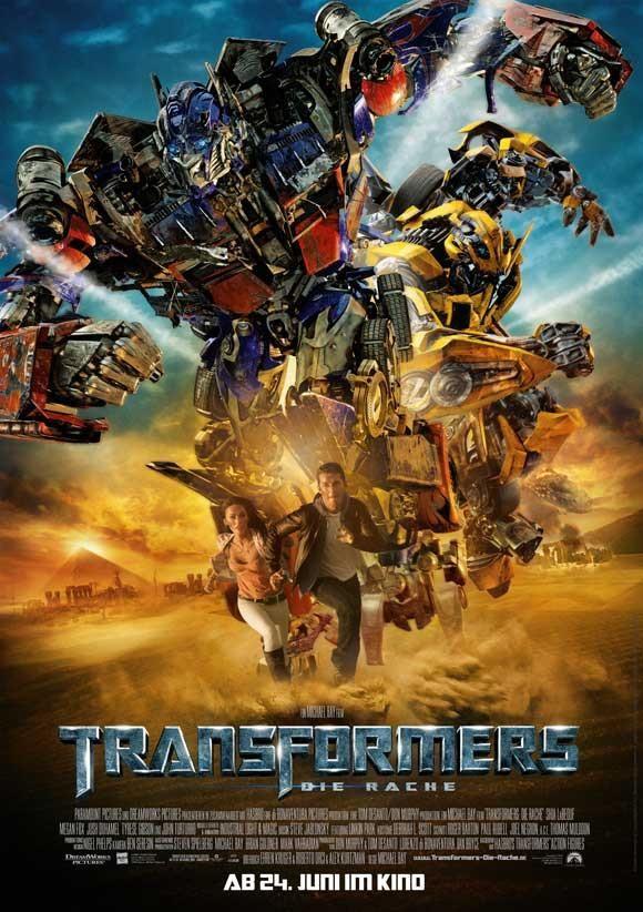 Transformers 2 Revenge of the Fallen (German) 11x17 Movie