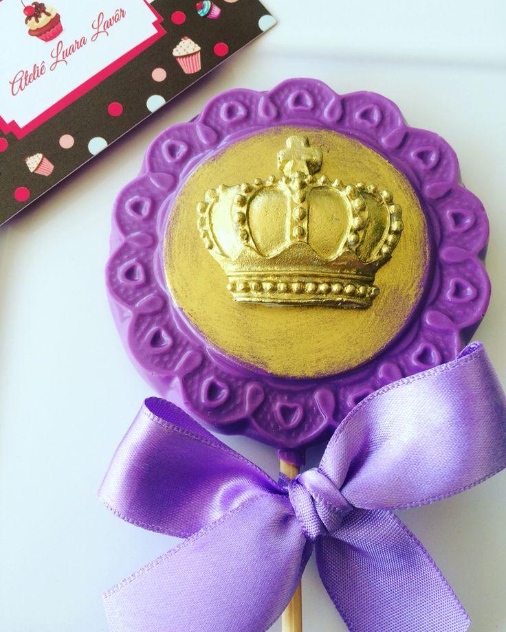 Pirulito Princesinha Sofia!