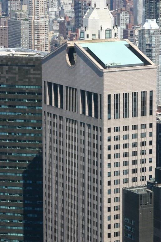 Philip Johnson - AT building (1984) | (New York) | Postmodernisme