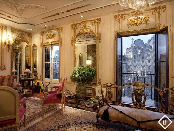 Splendide appartement de luxe  situé sur la rue la plus cotée de Barcelone : Passeig de Gràcia.