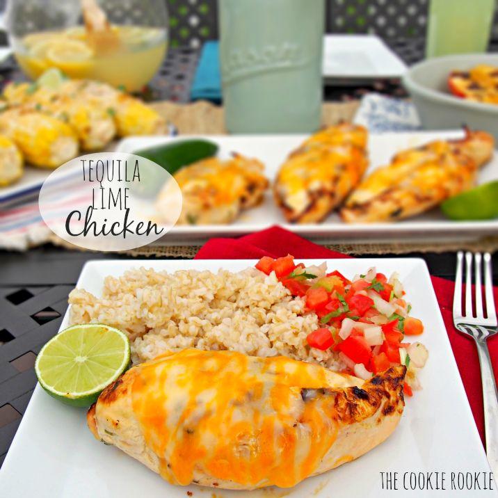 Tequila Lime Chicken.  (Copycat Applebee's Grilled Fiesta Lime Chicken) Favorite grilling chicken! - The Cookie Rookie