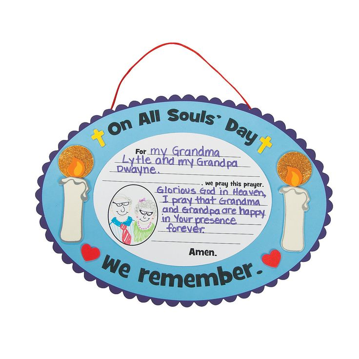 $8.25~All Saints Day Craft - OrientalTrading.com Makes 12.