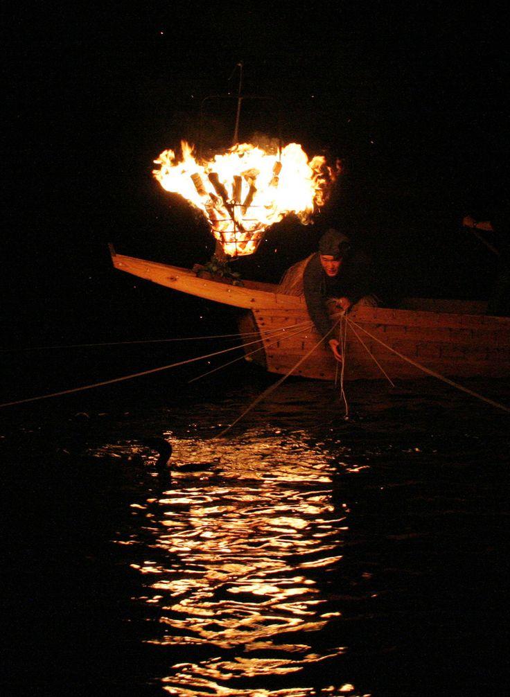 Fishing with Fire - Cormorant Fishing on the Nagara River, Gifu, Japan 長良川 鵜飼