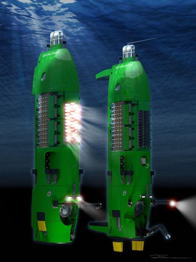 In-Depth: Deepsea Challenger • Gear Patrol