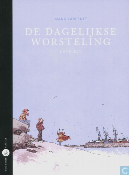 Beklijvende en ontroerende strip over een fotograaf die zijn balans zoekt in het leven. Manu Larcenet : 'De dagelijkse worsteling' (integrale), De Bezige Bij/Oog&Blik, 240 blz., €24,90.