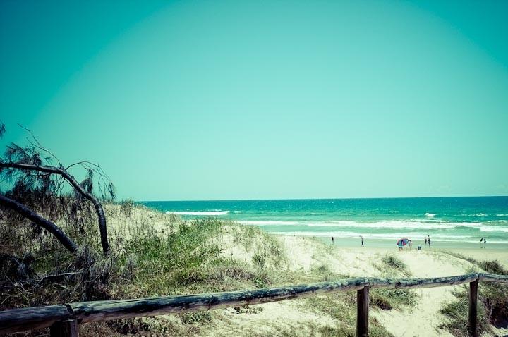 Peregian Beach, Sunshine Coast Australia  Tudini Visit, August 2004