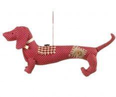 Závěsná dekorace Dog Patchwork