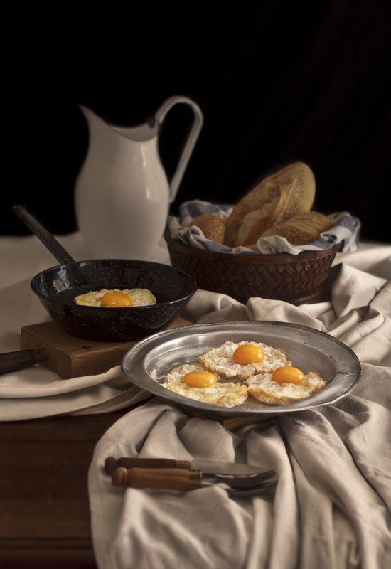 Receta 469: Manera de hacer los huevos fritos » 1080 Fotos de cocina