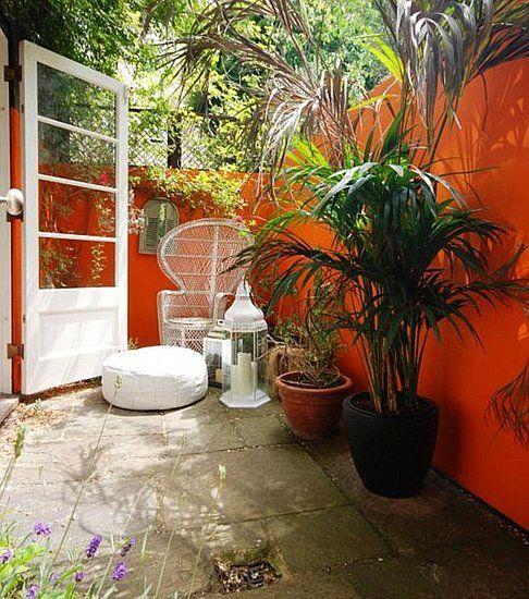 Moroccan Style Patio Patios Gardens Pinterest