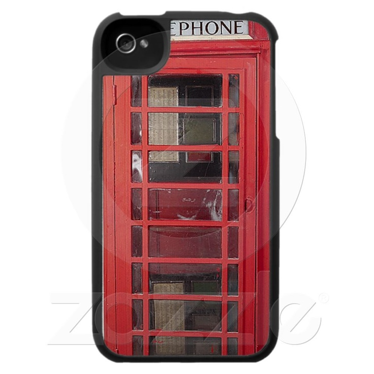 Funny Phone Booth iPhone 4 Case from Zazzle.com - $41