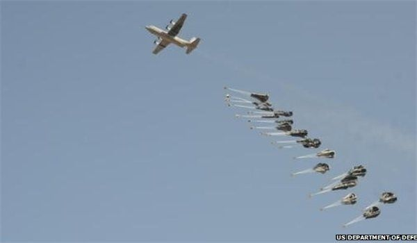 Posted February 24, 2015 Iraq's army has shot down two British planes as they were carrying weapons for the ISIL terrorists in Al-Anbar province, a senior lawmaker disclosed on Monday. http://www.veteranstoday.com/2015/02/24/iraqi-army-downs-2-uk-planes-carrying-weapons-for-isil/