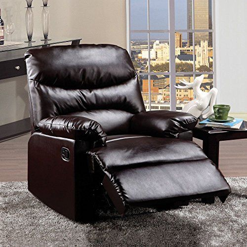 ACME 59010 Arcadia Recliner Espresso PU *** Click image to review more details. & 22 best Recliners for Living Room images on Pinterest | Living ... islam-shia.org