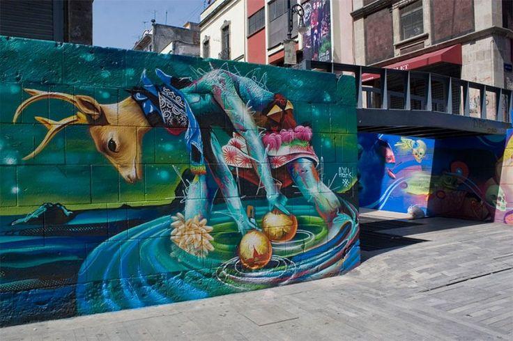 Los murales monumentales del street art mexicano llegan a Iztapalapa