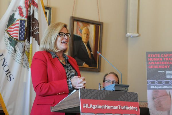 McConnaughay, Hutchinson Honor Illinois Heroes Who Fight Human Trafficking