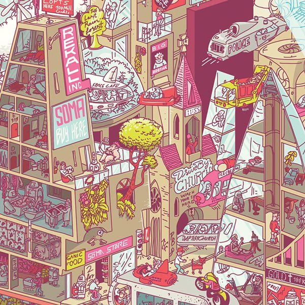Business Punk Illustration on Behance