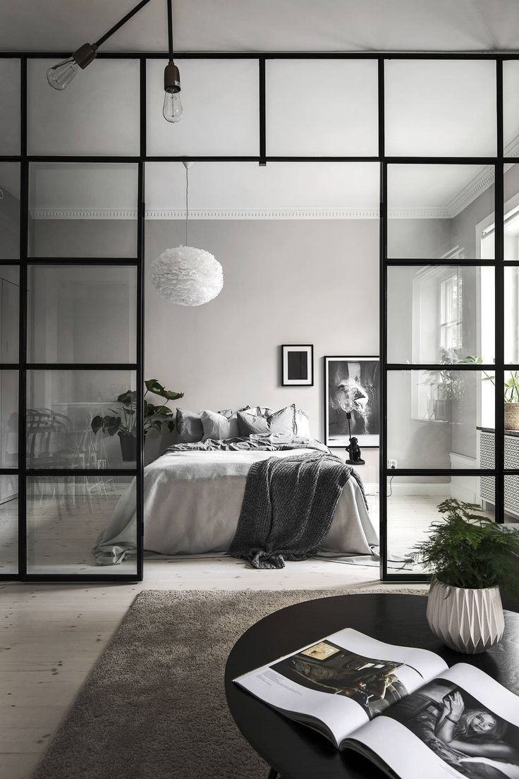 Küche, Wohnzimmer und Schlafzimmer in einem – via Coco Lapine Design Blog