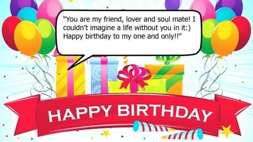 Happy Birthday Wishes For A Lover 5