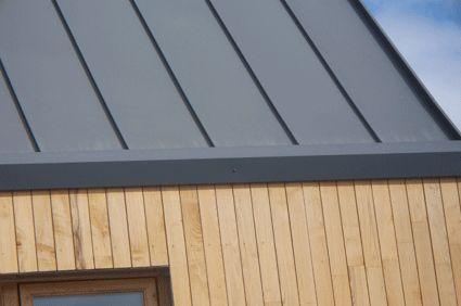 Hidden Gutter Zinc Roof Standing Seam Roof Standing Seam