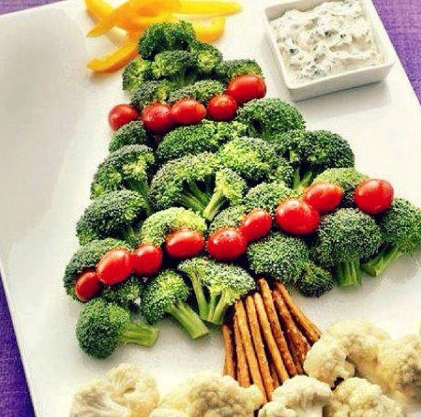We love this novel veggie dip Christmas idea, looks so yummy! #mayvers #christmas #ideas #soyummy #goodhealth