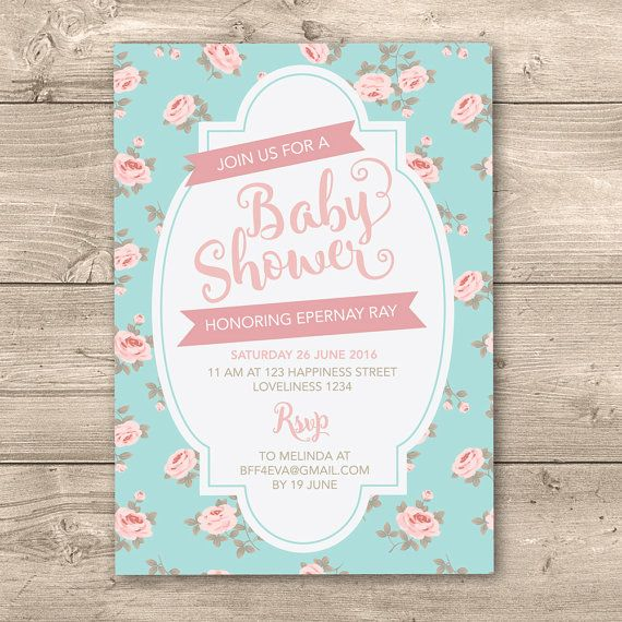 8 best baptism christening invitations images on pinterest modern cute baby shower invitation i by inkandcarddesigns stopboris Choice Image