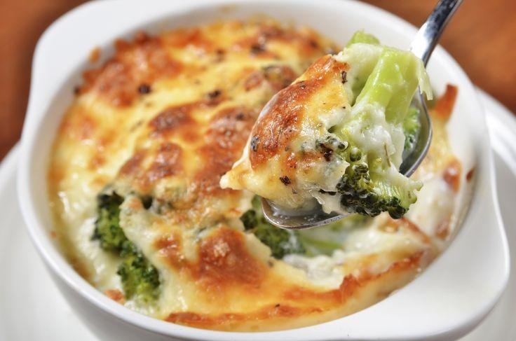 Gratin de brocoli, délicieux pour manger des légumes avec gourmandise