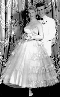 Justine Carelli and Bob Clayton, dance partners on AB
