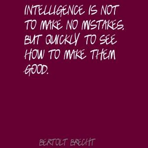 Bertolt Brecht. Smart.