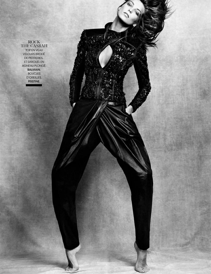 Daria Werbowy in Madame Figaro November Issue 2013