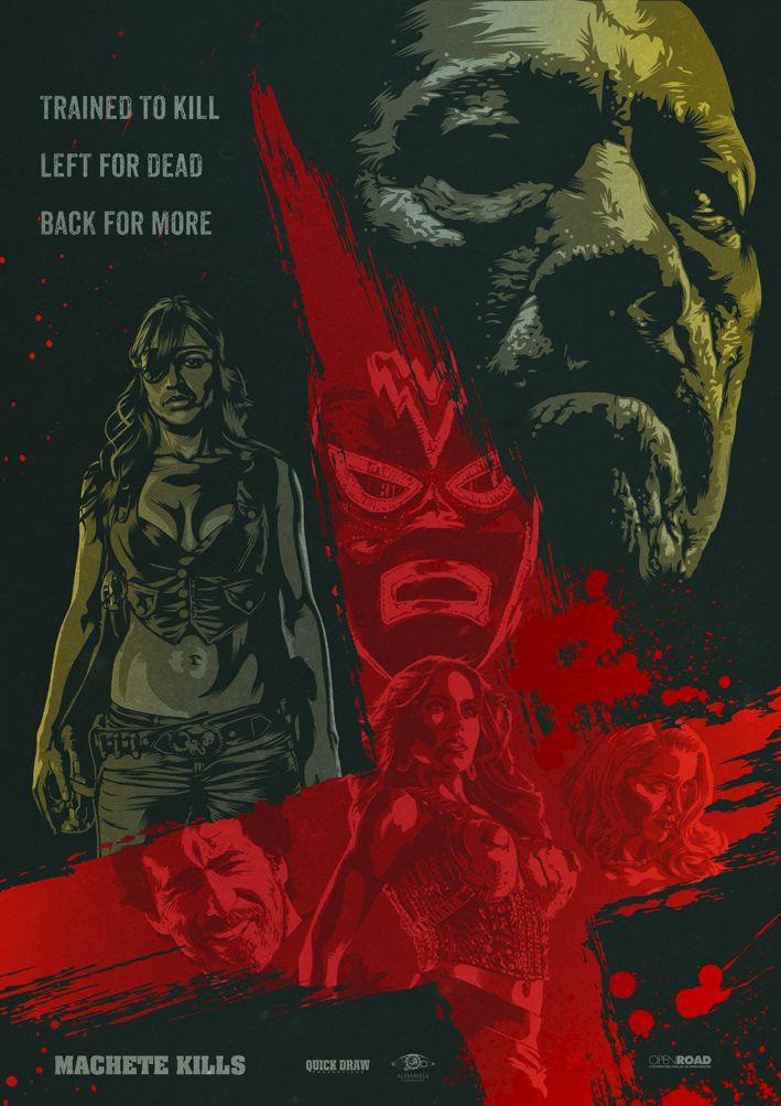 Machete Kills - movie poster - oldredjalopy.deviantart.com