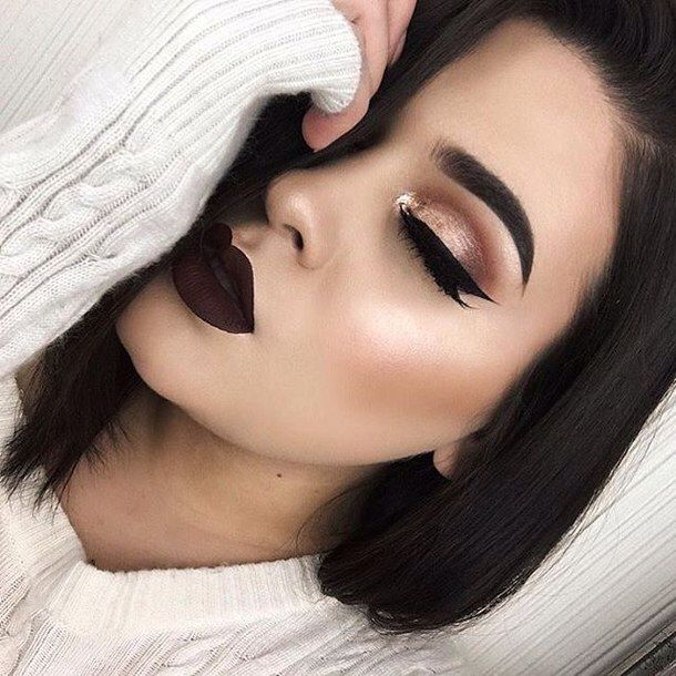 25+ best ideas about Dark Lipstick Makeup on Pinterest | Slay all ...