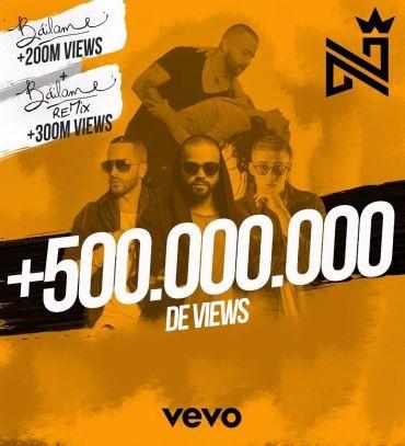 """¡Nacho celebra 500 millones de visitas entre la versión original de """"Báilame"""" y el remix! - https://labluestar.net/slider/nacho-celebra-500-millones-visitas-la-version-original-bailame-remix/ -   #Labluestar.com"""