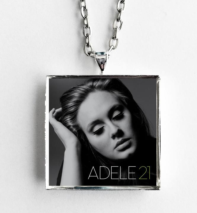 Adele - 21 - Album Cover Art Pendant Necklace