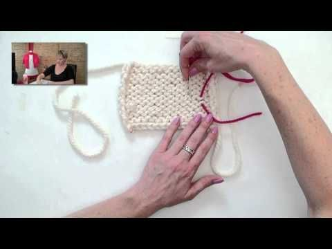 Weaving in ends the correct way (keeping the knitted fabric elastic)