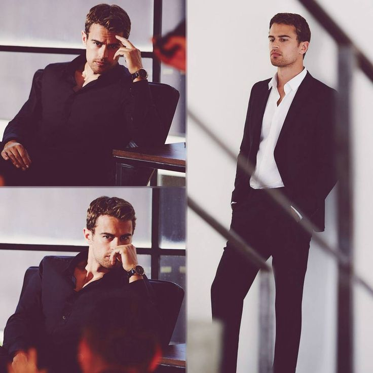 NEW photos of Theo James for Hugo Boss exclusively shared by Just Jared Jr! (HQ) •|• [#theojames]