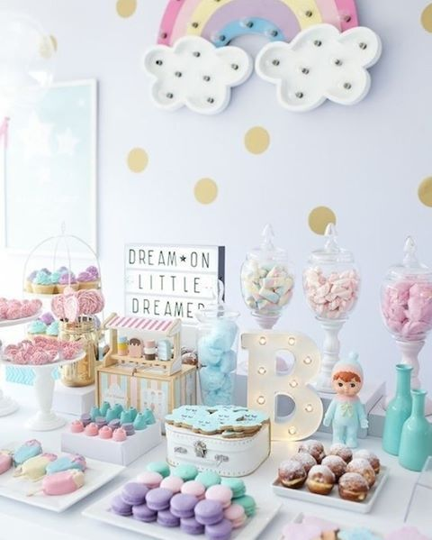 Wonderful Dream Party! So Cute! Unicorn PartyUnicorn Baby ShowerUnicorn ...
