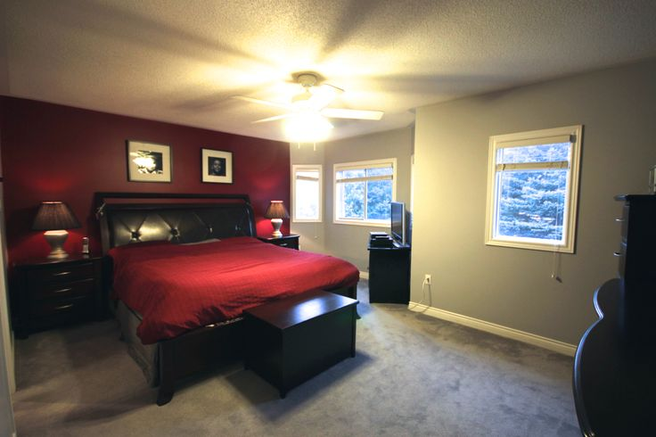 Master Bedroom - Dramatic Elegance! With a large Ensuite and Walking Closet.