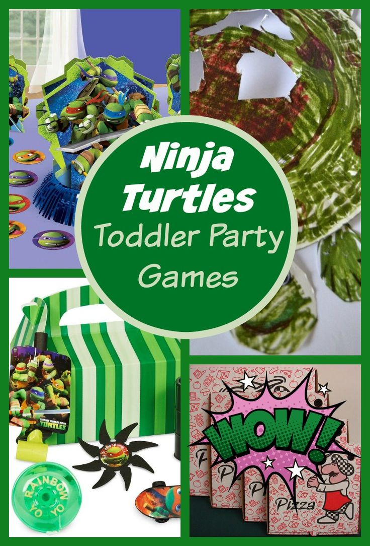 Ninja Turtle Party Games For Toddlers My Kids Guide