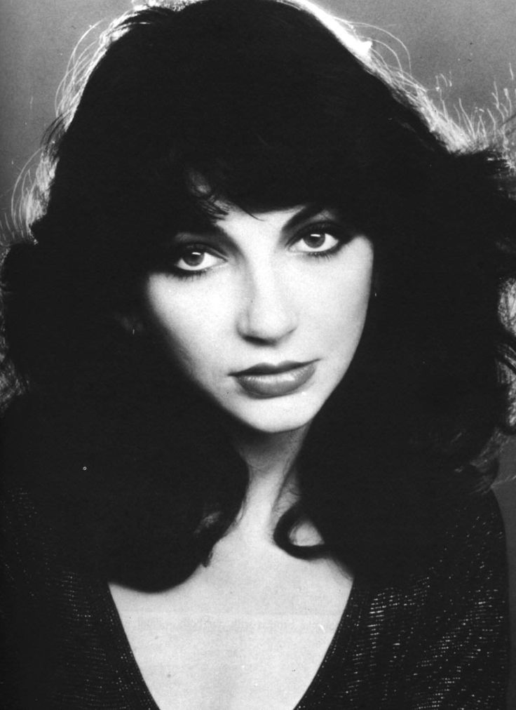 Kate Bush CBE - in 1978 the first woman to have a UK number one single with a self written song - the amazing 'Wuthering Heights'