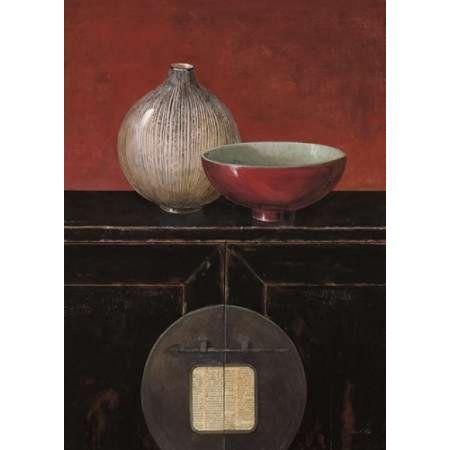 asian armoire noir canvas art arnie fisk 18 x 24