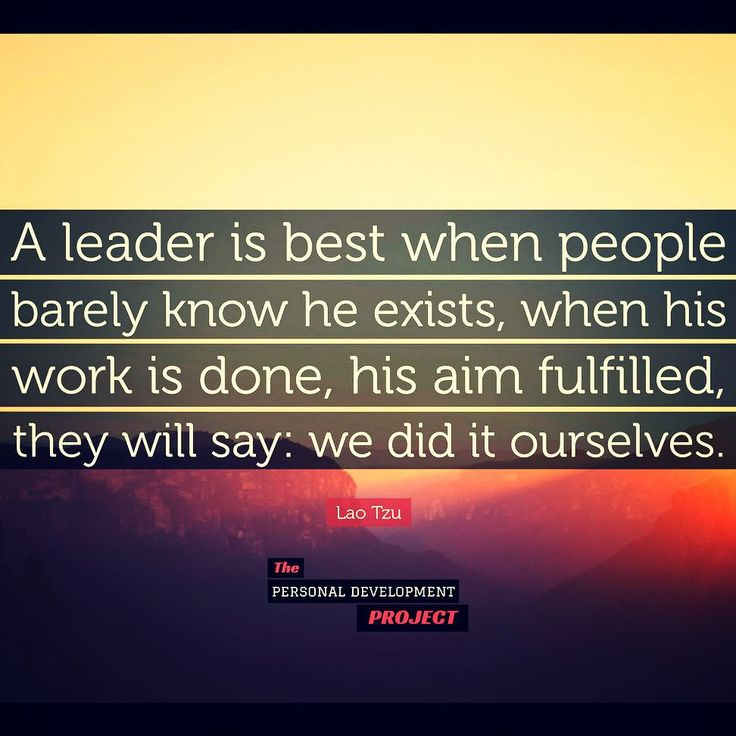 """A leader is best when people barely know he exists when his work is done his aim fulfilled they will say: we did it ourselves."" Lao Tzu Double tap if you like follow @psychologymastery for more! #thepdproject #successdosedaily #psychologymastery #success #picoftheday #determination #entrepreneur #leadership #transformation #strength #leader #growthhacking #successtips #professionaldevelopment #successmindset #entrepreneurquotes #successstory #businesstips #entrepreneurial #publicspeaking"